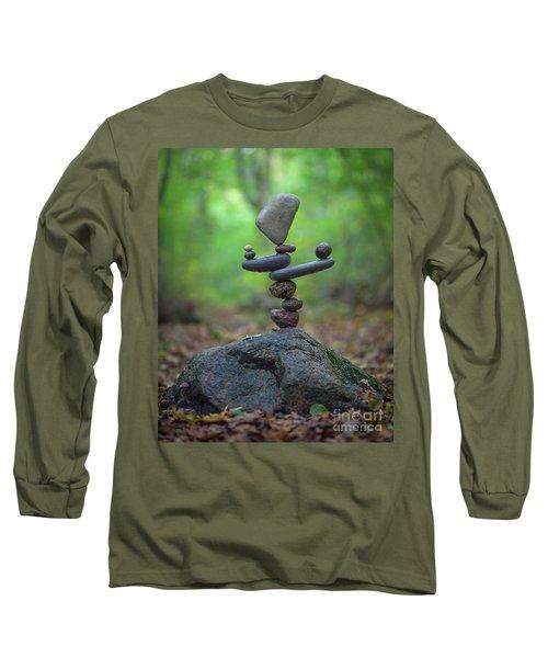 Zen Stack #5 Long Sleeve T-Shirt