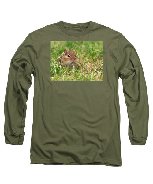 No Room For One More Bite Long Sleeve T-Shirt
