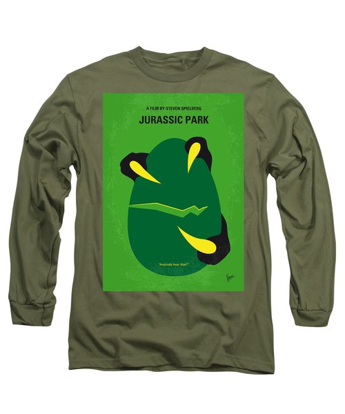 No047 My Jurassic Park Minimal Movie Poster Long Sleeve T-Shirt
