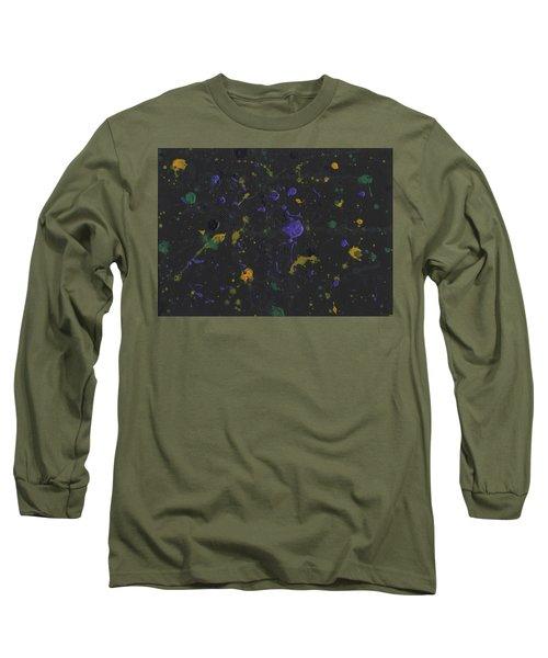 Nola Mardi Gras Long Sleeve T-Shirt by Phil Strang