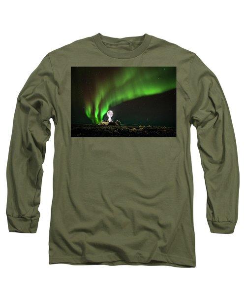 Norrsken Long Sleeve T-Shirt by Thomas M Pikolin