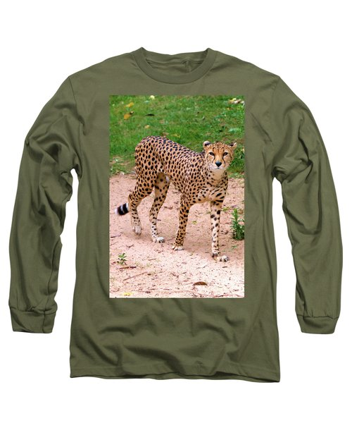 North African Cheetah Long Sleeve T-Shirt