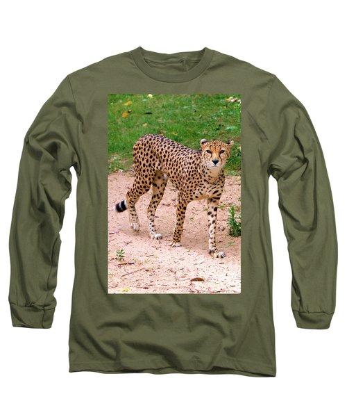 North African Cheetah Long Sleeve T-Shirt