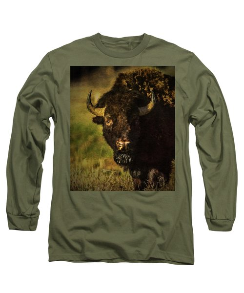 North American Buffalo Long Sleeve T-Shirt