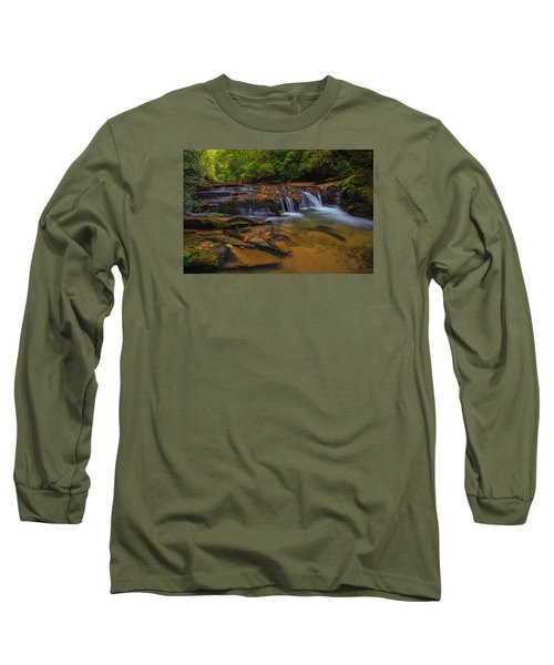 North Carolina Cascade Long Sleeve T-Shirt