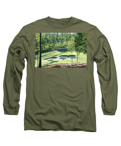 North Carolina Golf Course 12th Hole Long Sleeve T-Shirt