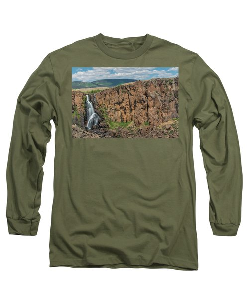 North Clear Creek Falls, Creede, Colorado 2 Long Sleeve T-Shirt