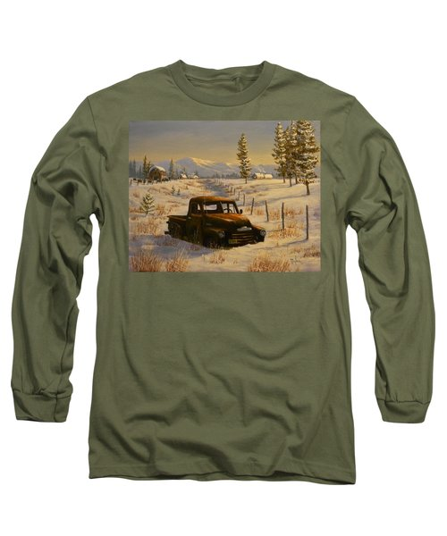 North Idaho Yard Art Long Sleeve T-Shirt