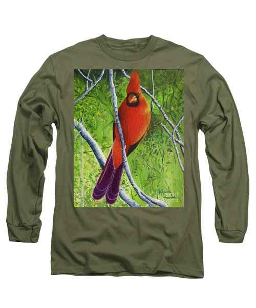 Northern Cardinal 1 Long Sleeve T-Shirt