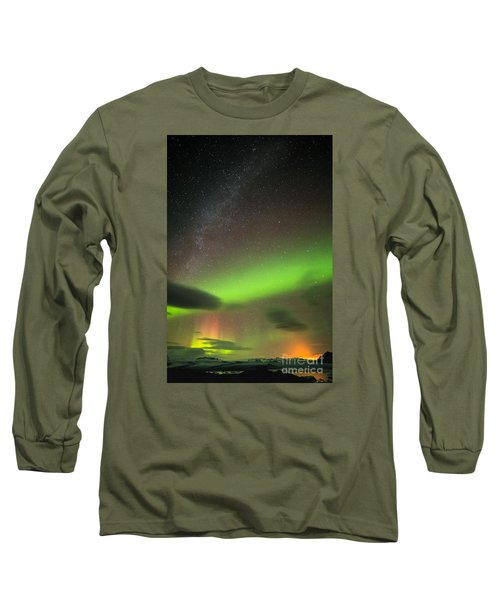 Northern Lights 8 Long Sleeve T-Shirt