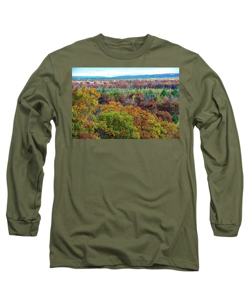 Northern Michigan Fall Long Sleeve T-Shirt