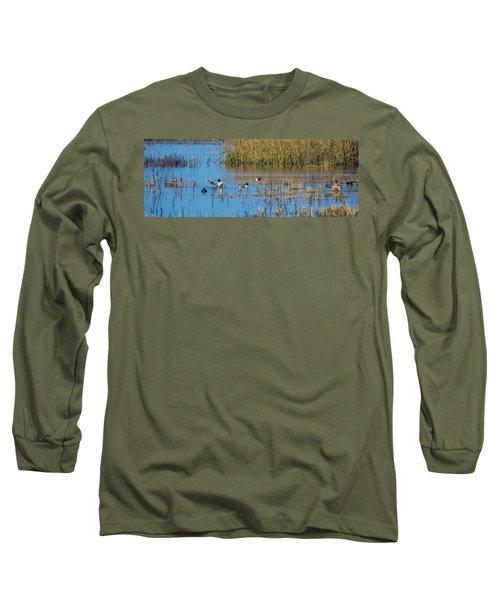 Northern Shovelers Long Sleeve T-Shirt