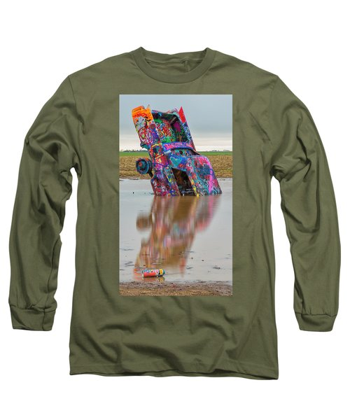 Long Sleeve T-Shirt featuring the photograph Nose Dive by Stephen Stookey