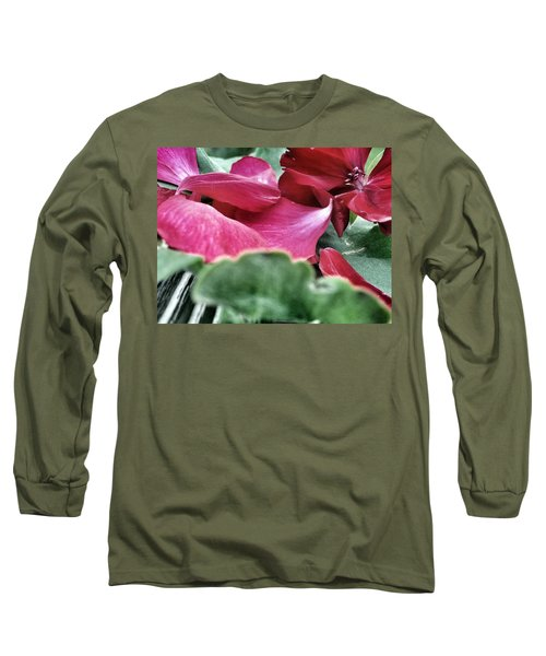 Long Sleeve T-Shirt featuring the photograph Not A 4 Leaf Clover by Robert Knight