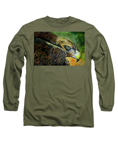 Not Happy Long Sleeve T-Shirt by Ken Pridgeon