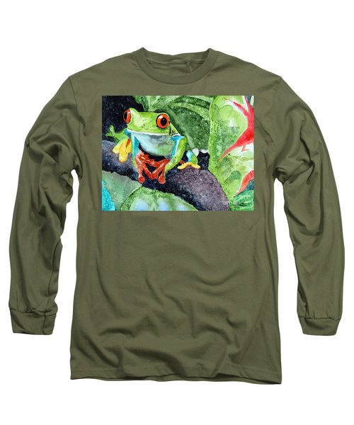 Not Kermit Long Sleeve T-Shirt by Tom Riggs