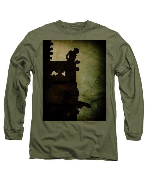 Paris, France - Gargoyle Watch Long Sleeve T-Shirt