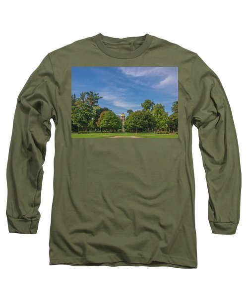 Long Sleeve T-Shirt featuring the photograph Notre Dame University 6 by David Haskett
