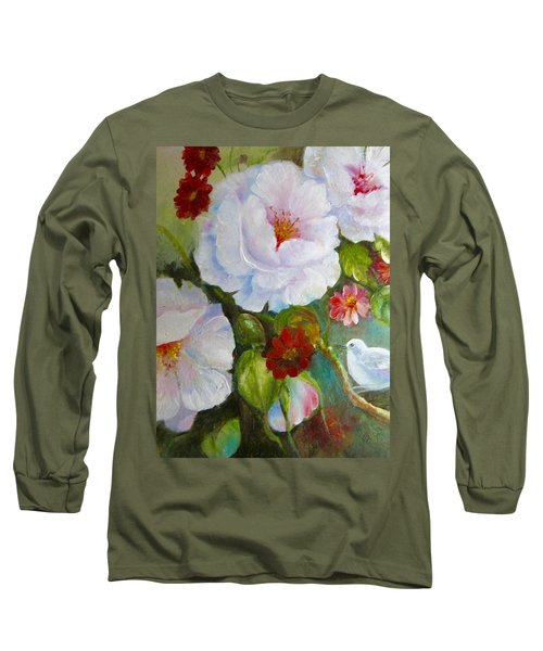 Noubliable  Long Sleeve T-Shirt by Patricia Schneider Mitchell