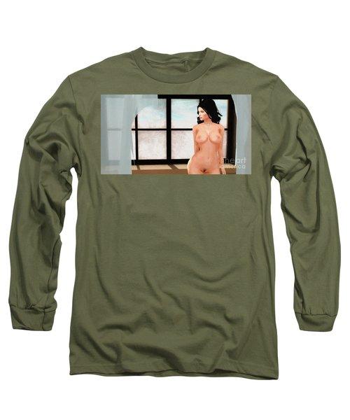 Nude 1 Long Sleeve T-Shirt