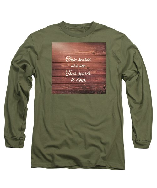 Nuptial Note Long Sleeve T-Shirt by JAMART Photography