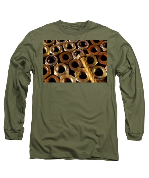 Nuts And Screw Long Sleeve T-Shirt