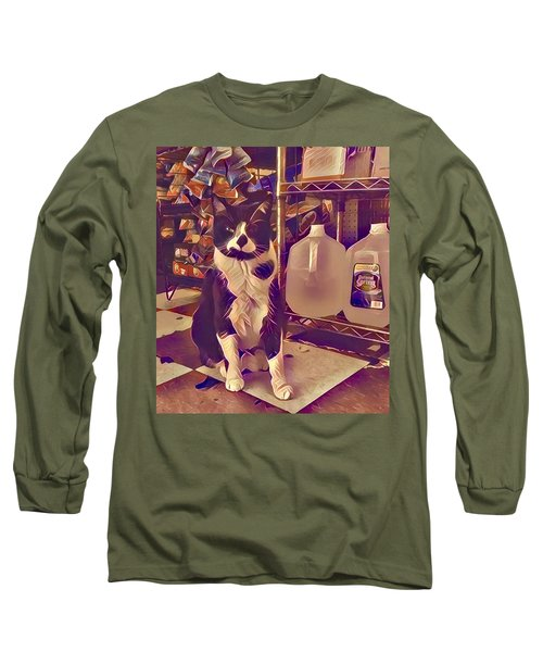 Nyc Bodega Cat Long Sleeve T-Shirt