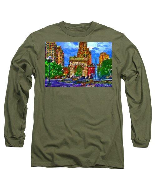 NYU Long Sleeve T-Shirt