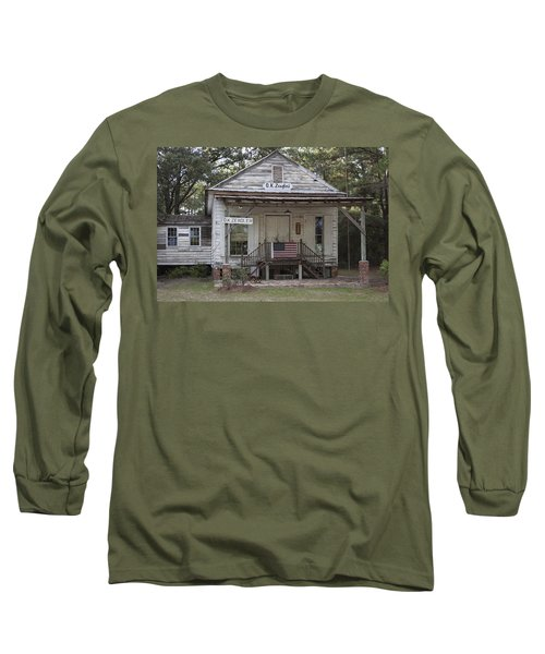 O K Zeaglers Mercantile And Post Office Long Sleeve T-Shirt by Suzanne Gaff