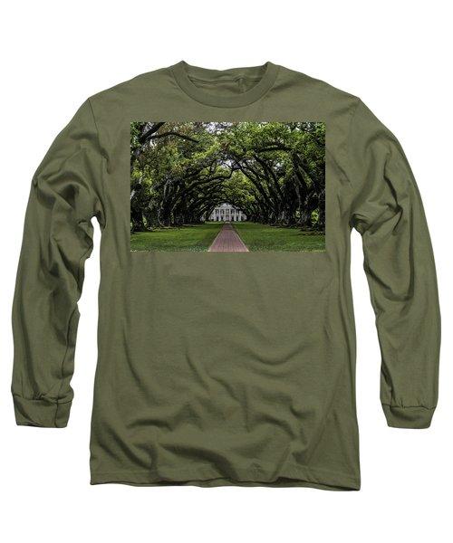 Oak Alley Plantation, Vacherie, Louisiana Long Sleeve T-Shirt