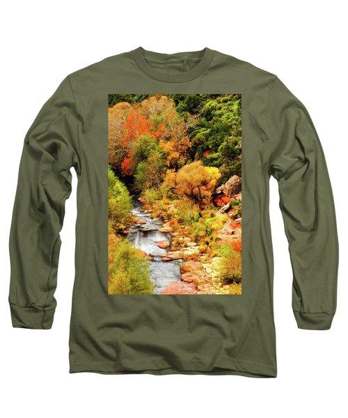 Oak Creek Canyon Long Sleeve T-Shirt