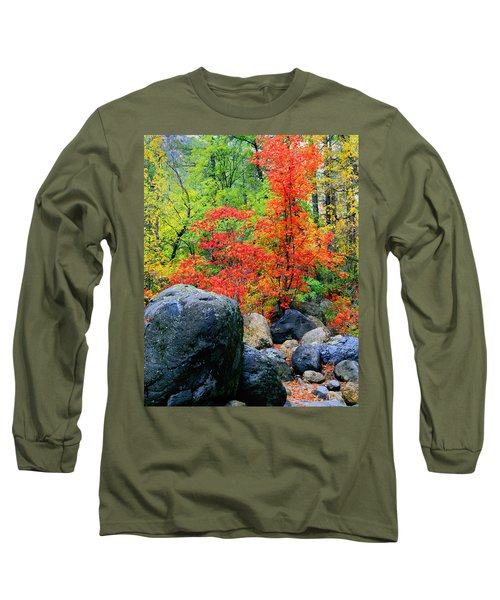 Oak Creek Canyon Red Long Sleeve T-Shirt