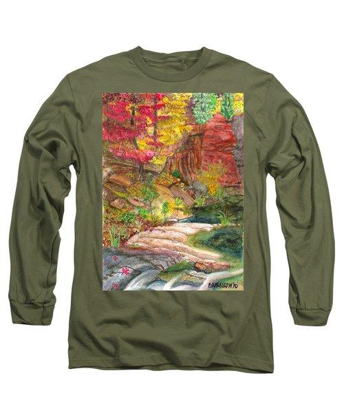 Oak Creek West Fork Long Sleeve T-Shirt by Eric Samuelson