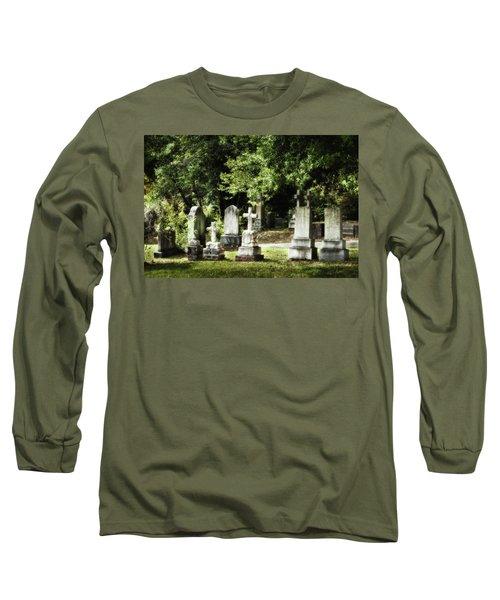 Oakdale Cemetery Long Sleeve T-Shirt