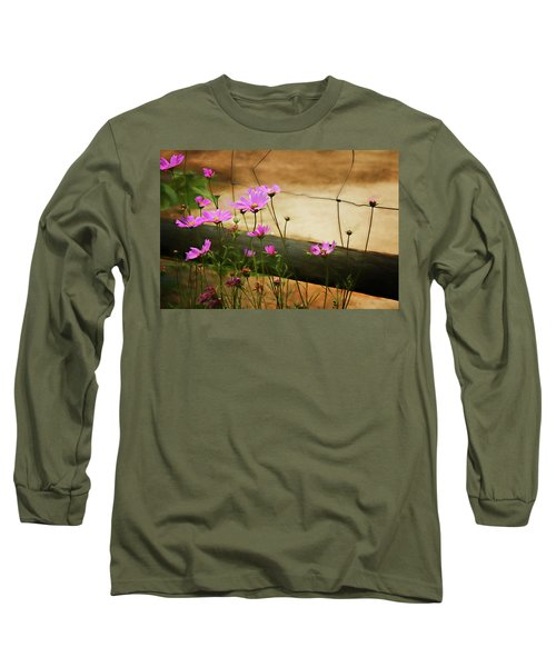 Long Sleeve T-Shirt featuring the photograph Oasis In The Desert by Lana Trussell