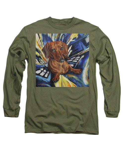 Obi Long Sleeve T-Shirt by Kim Lockman