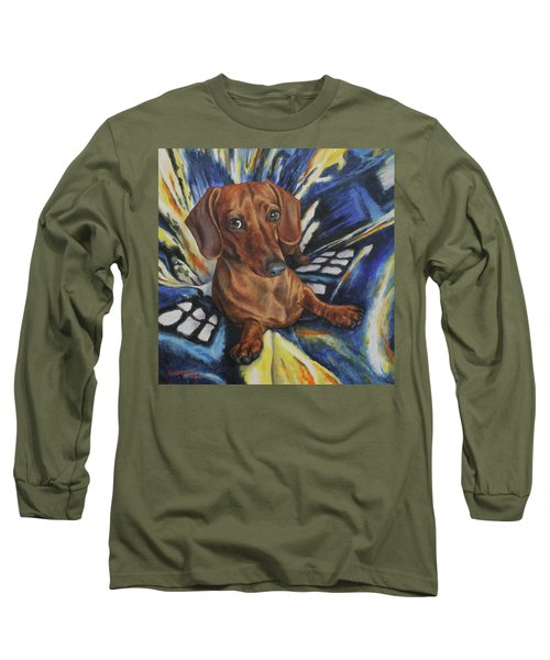 Dachshund Time Lord Long Sleeve T-Shirt