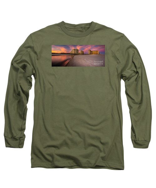 Ocean Creek Panoramic Long Sleeve T-Shirt by David Smith