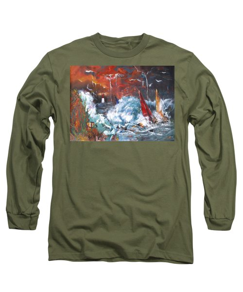Ocean Fury Long Sleeve T-Shirt
