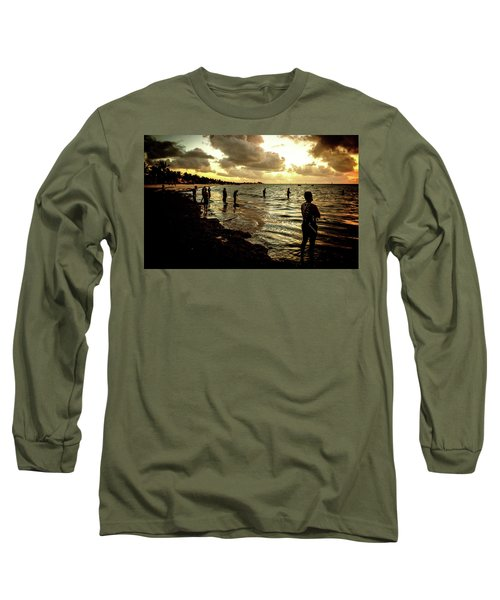 Ocean Thinker Long Sleeve T-Shirt