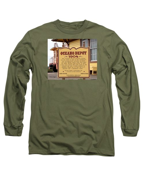 Oceano Depot 1904 Long Sleeve T-Shirt