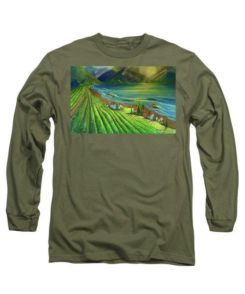 Sunset Vineyard  Long Sleeve T-Shirt