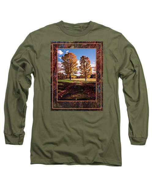 October Afternoon Beauty Long Sleeve T-Shirt by Joy Nichols