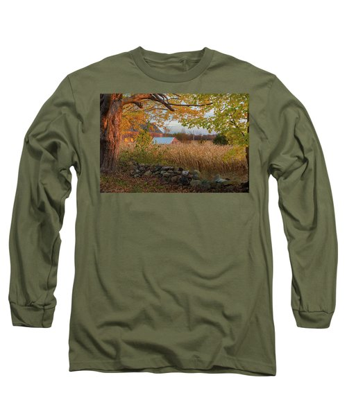 Long Sleeve T-Shirt featuring the photograph October Morning 2016 by Bill Wakeley