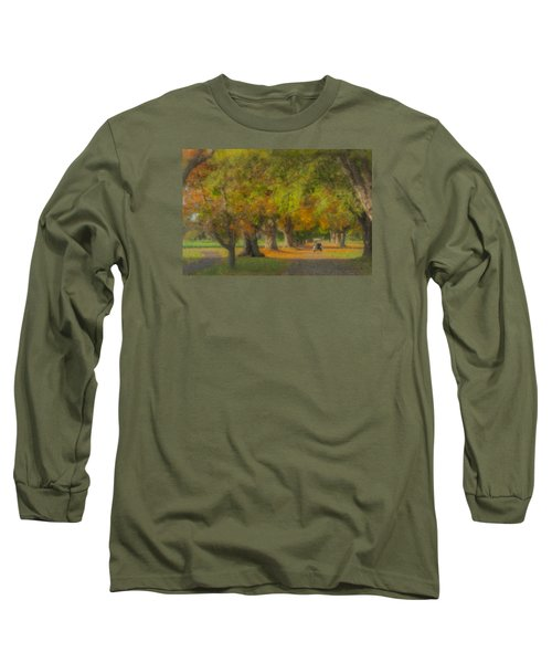 October Morning At Easton Country Club Long Sleeve T-Shirt