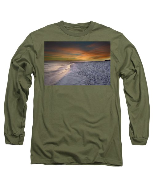 October Night Long Sleeve T-Shirt by Renee Hardison