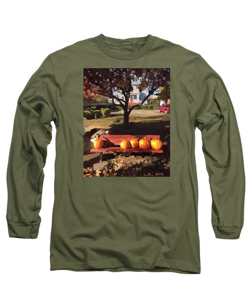 October Pumpkins Long Sleeve T-Shirt
