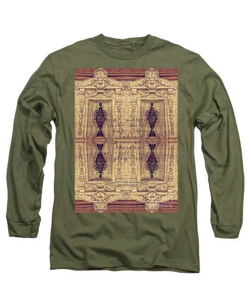 Ode To A Grecian Urn Palais Garnier Paris France Long Sleeve T-Shirt