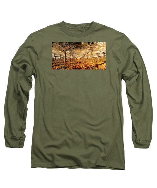 Long Sleeve T-Shirt featuring the photograph Off Of The Vine by Steve Siri