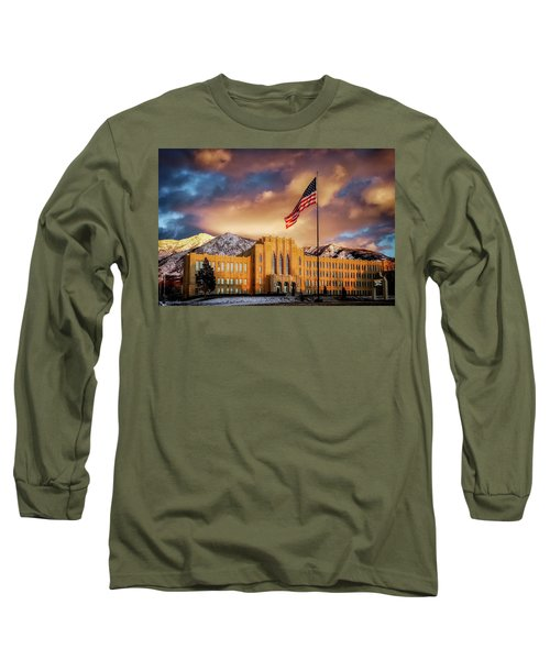 Ogden High School At Sunset Long Sleeve T-Shirt